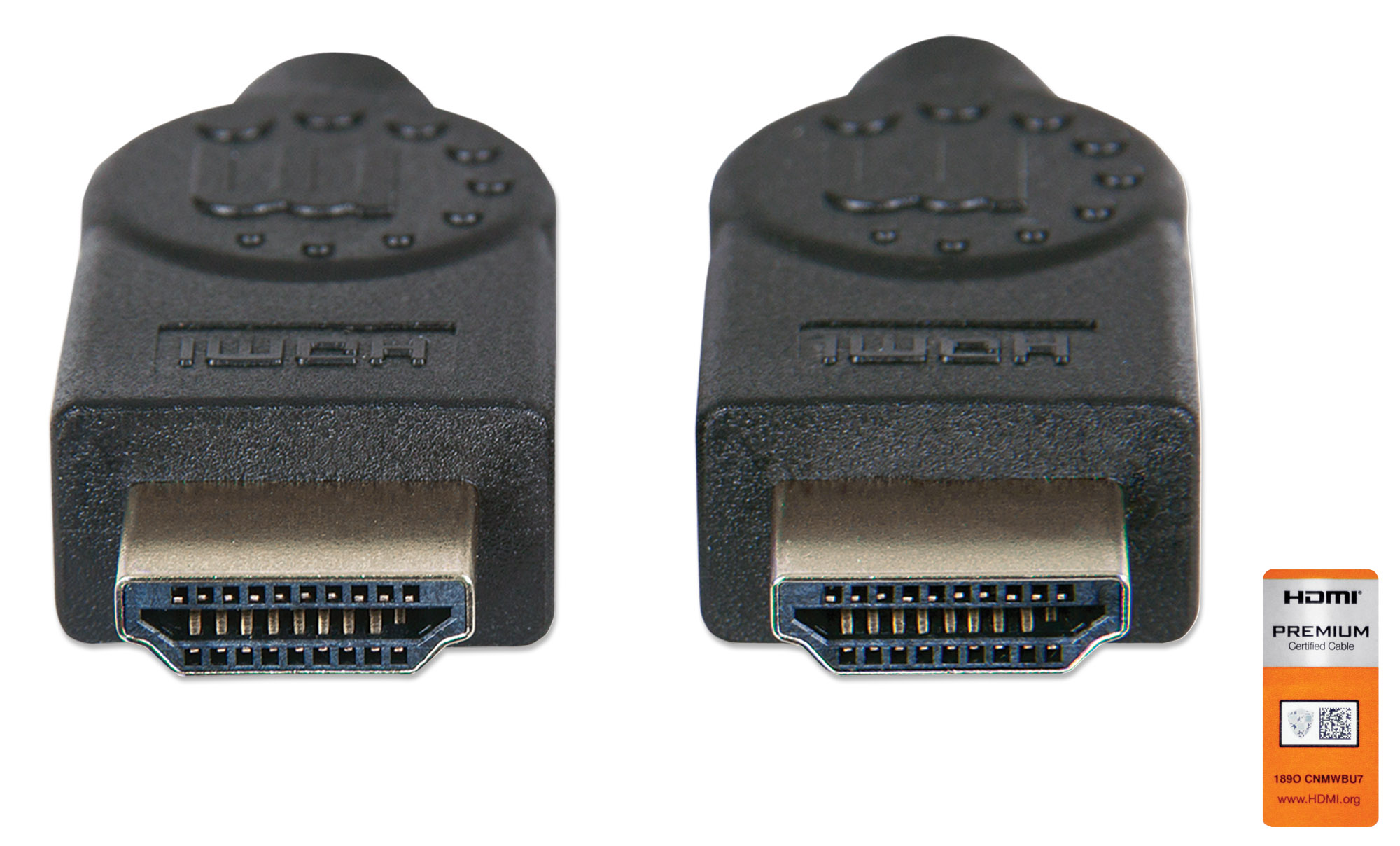 Certified Premium High Speed HDMI Cable with Ethernet
