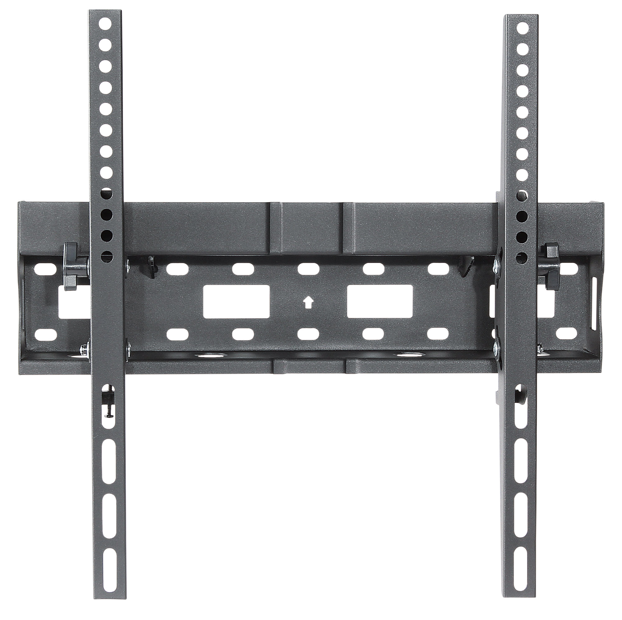 Universal Flat-Panel TV Tilting Wall Mount with Integrated Storage Area