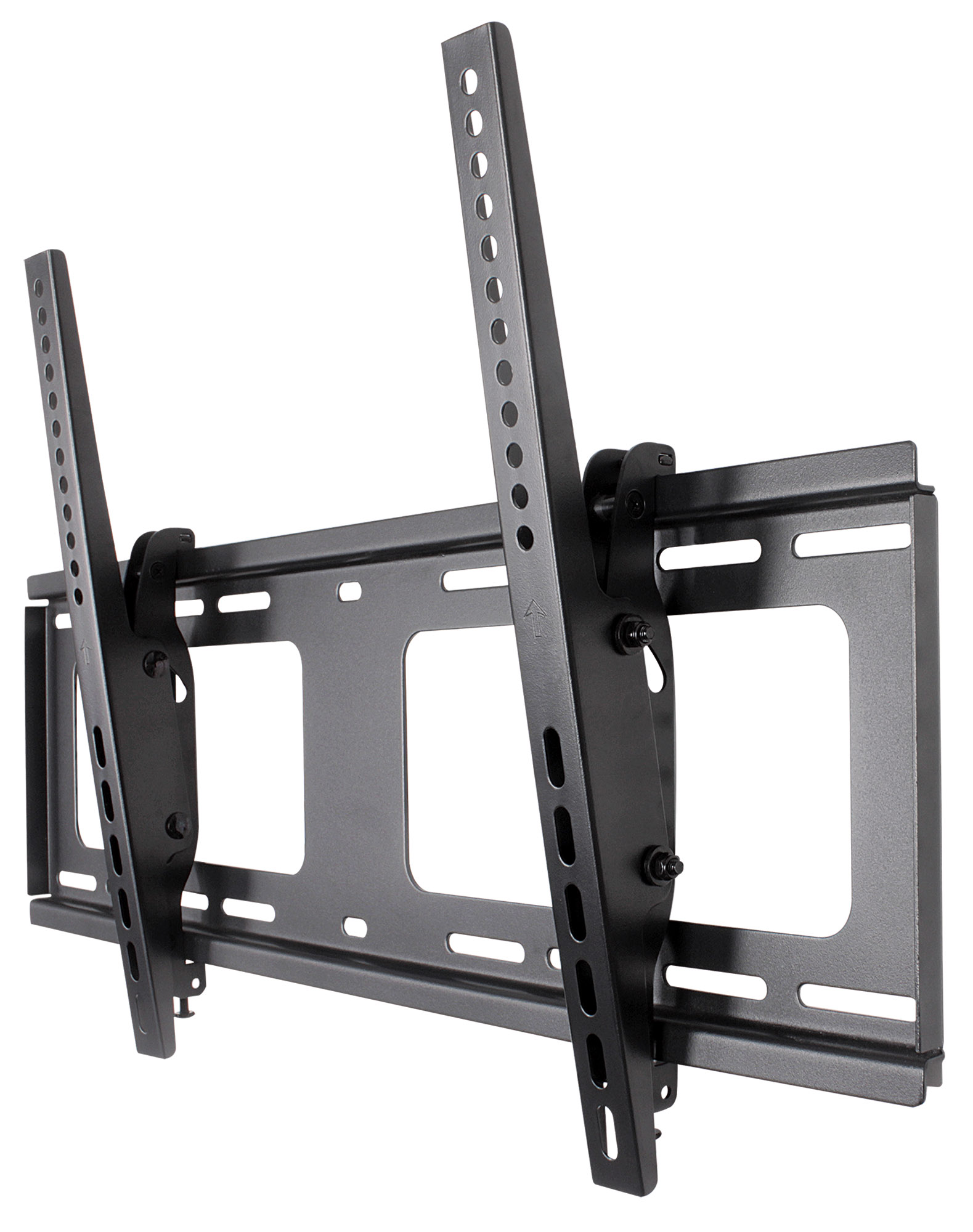 Universal Flat-Panel TV Tilting Wall Mount with Post-Leveling Adjustment
