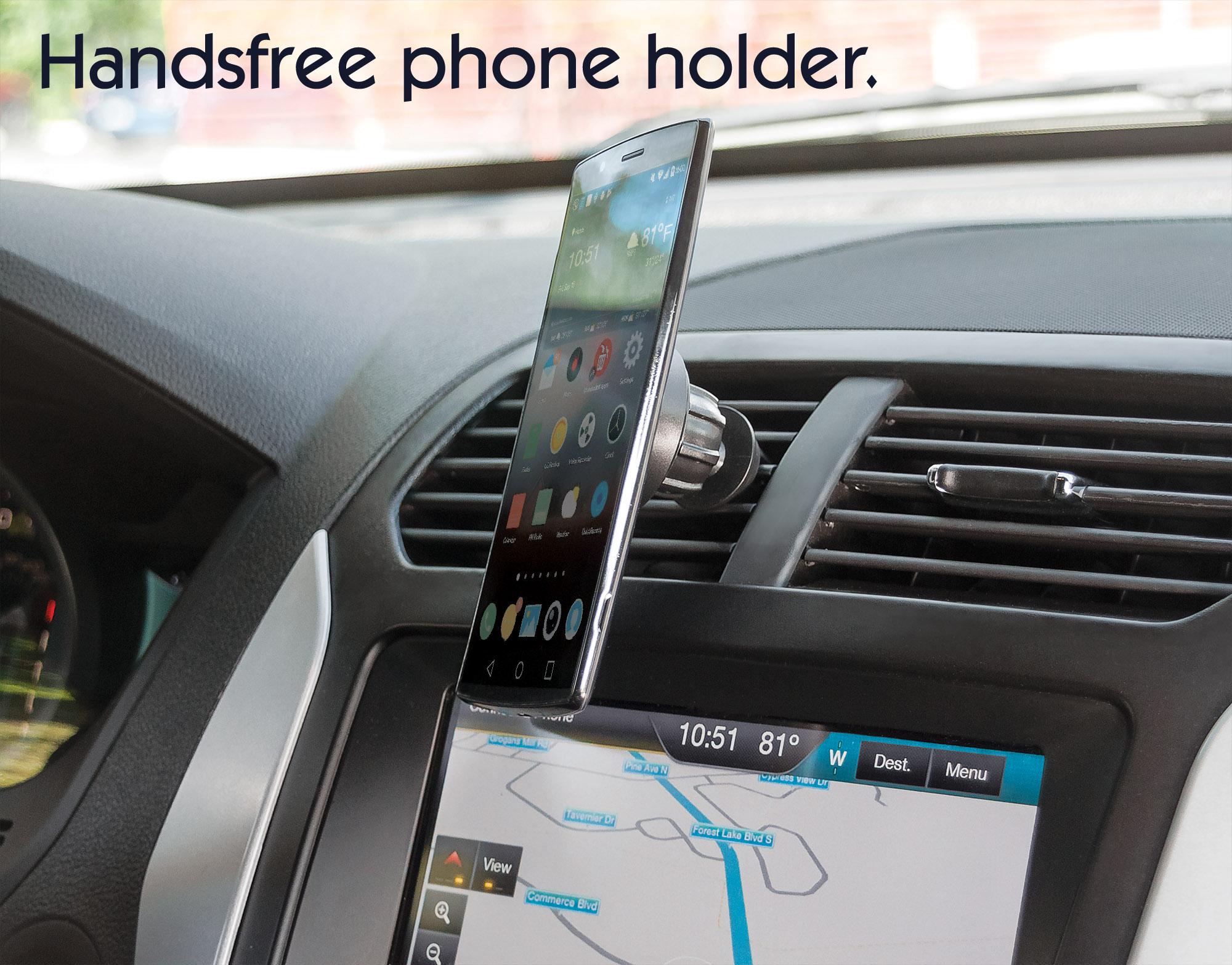 Magnetic Car Air-Vent Phone Mount