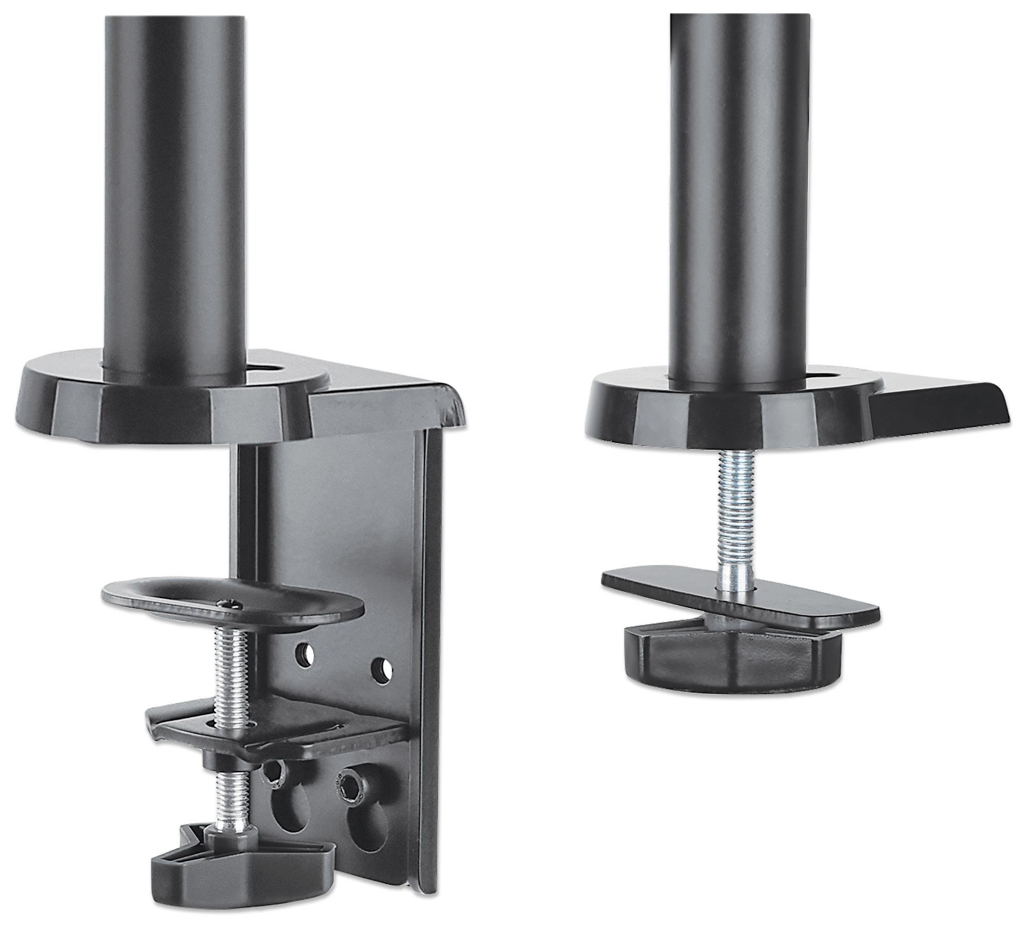 Universal Gas Spring Dual Monitor Mount