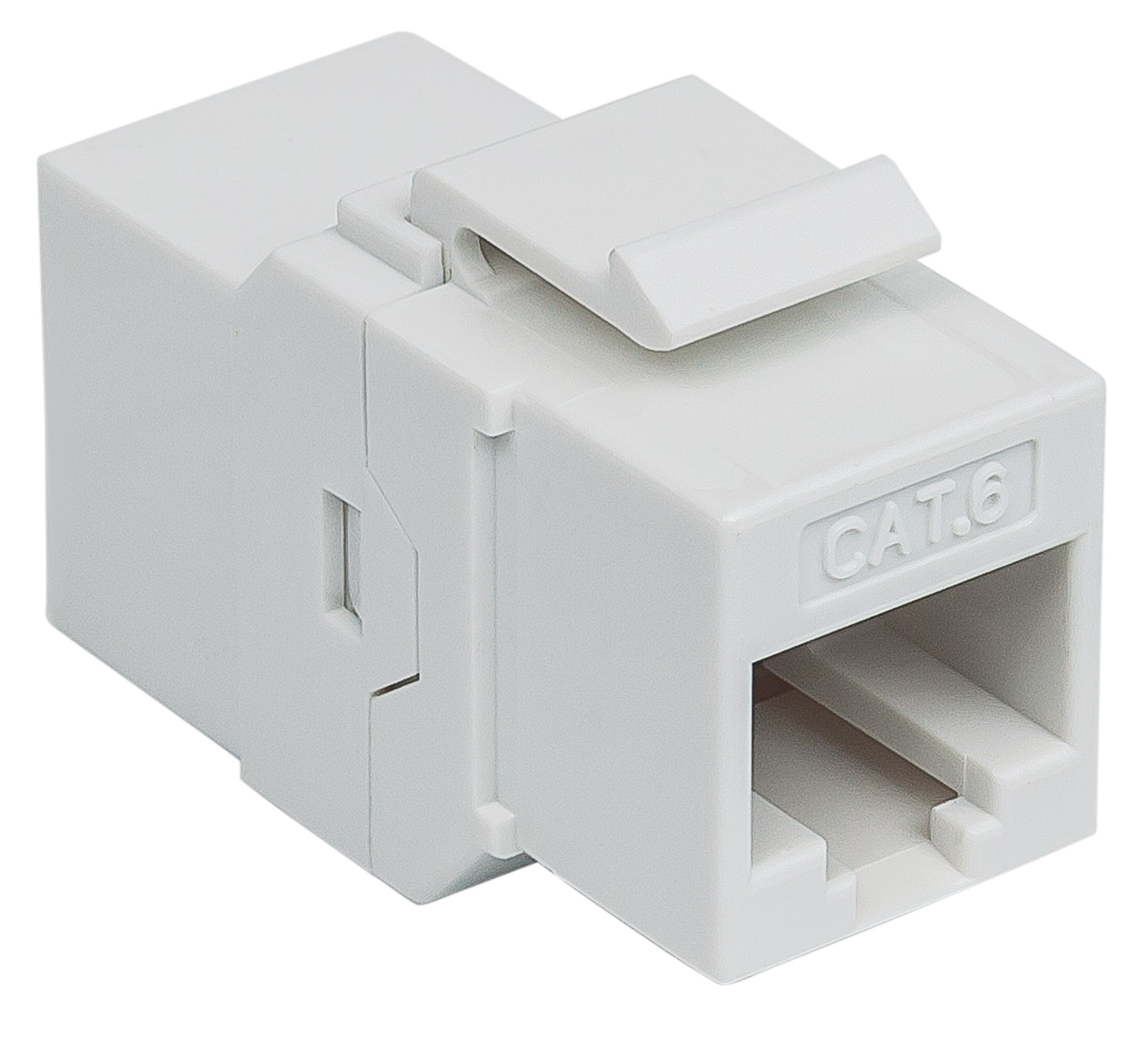 Cat6 Inline Coupler, Keystone Type