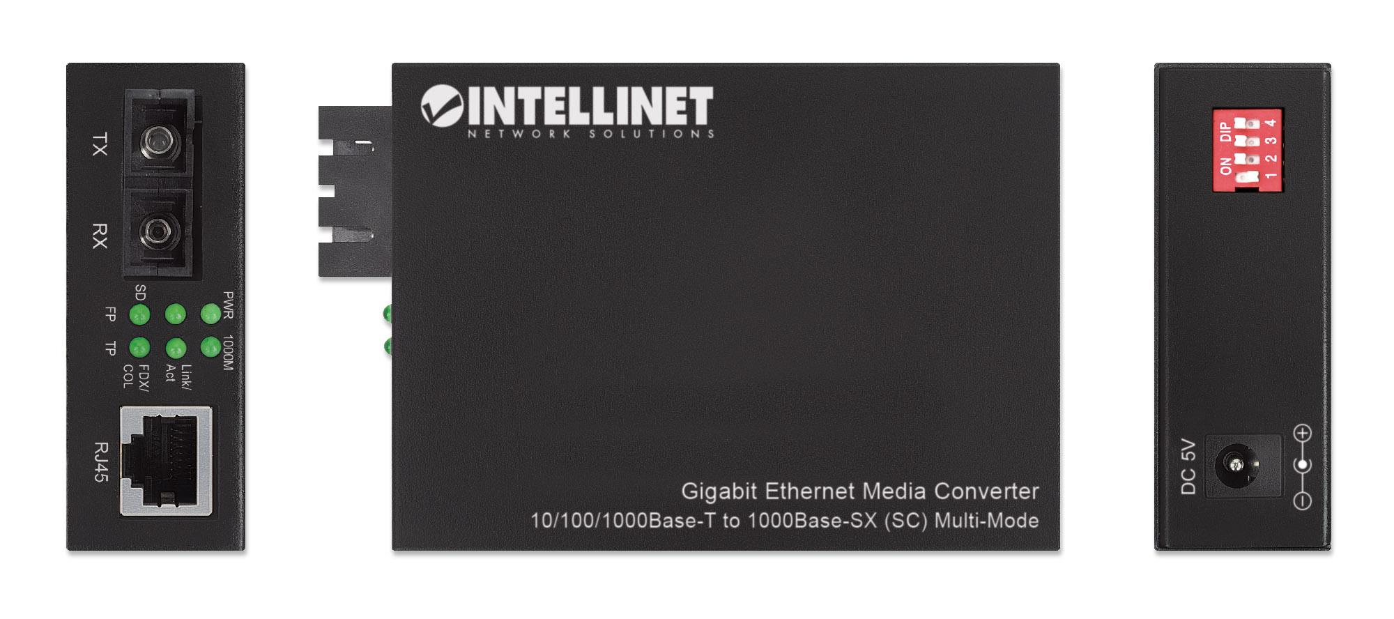 Gigabit Ethernet Media Converter