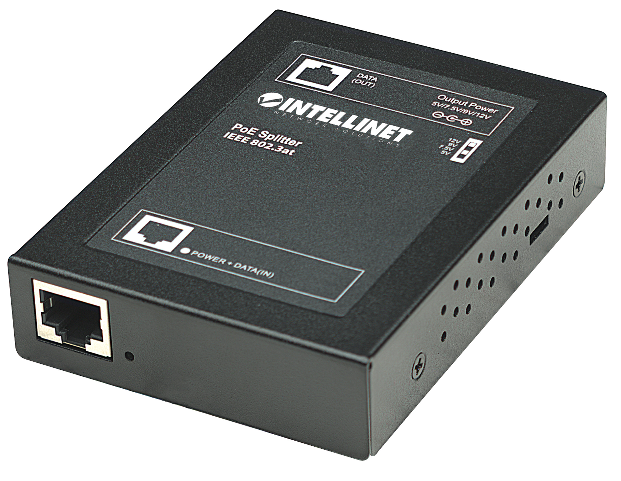 Power over Ethernet (PoE+) Splitter
