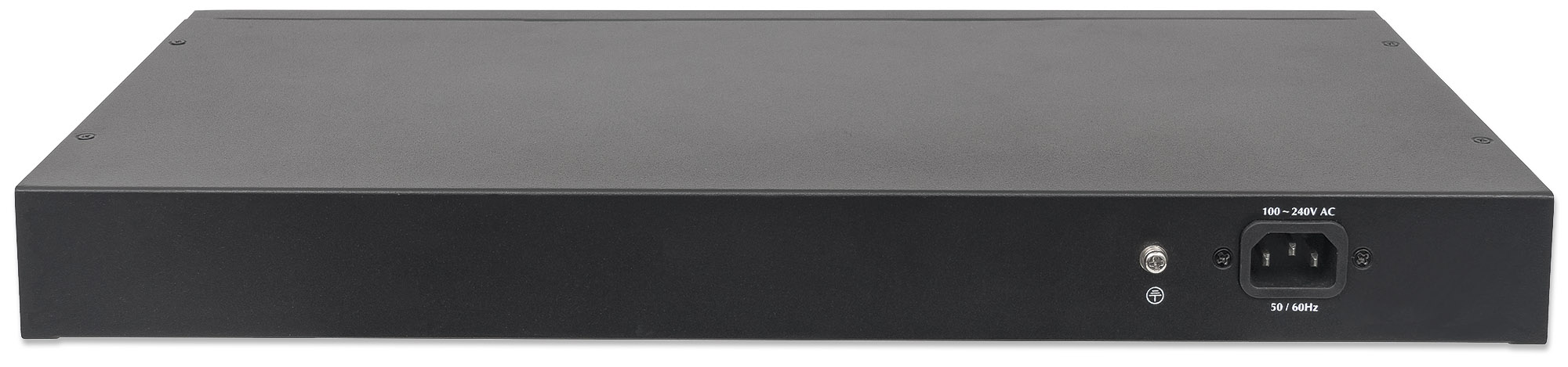 24-Port Gigabit Ethernet PoE+ Web-Managed Switch with 2 SFP Ports
