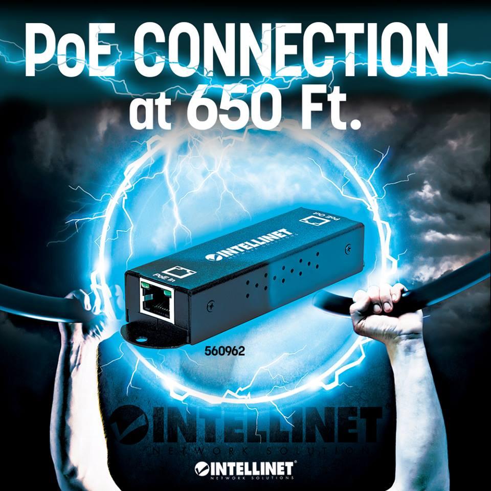Gigabit High-Power PoE+ Extender Repeater