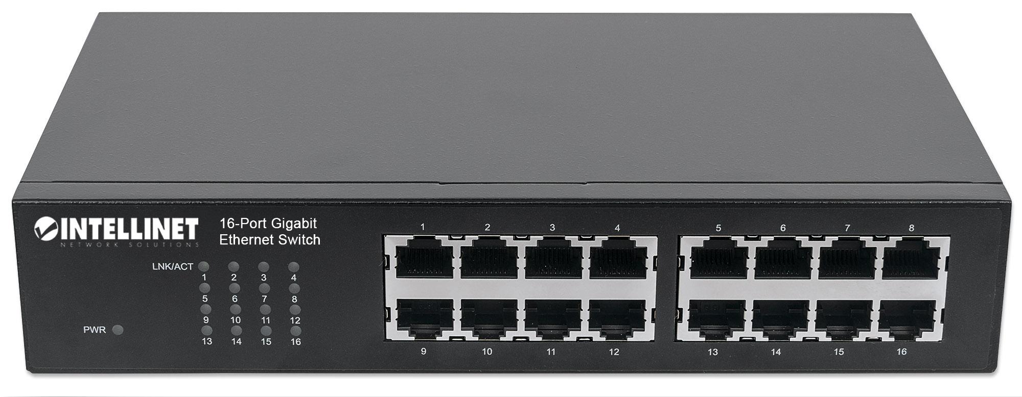 16-Port Gigabit Ethernet Switch