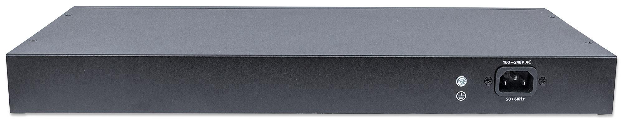 16-Port Gigabit Ethernet PoE+ Web-Managed Switch with 2 SFP Ports