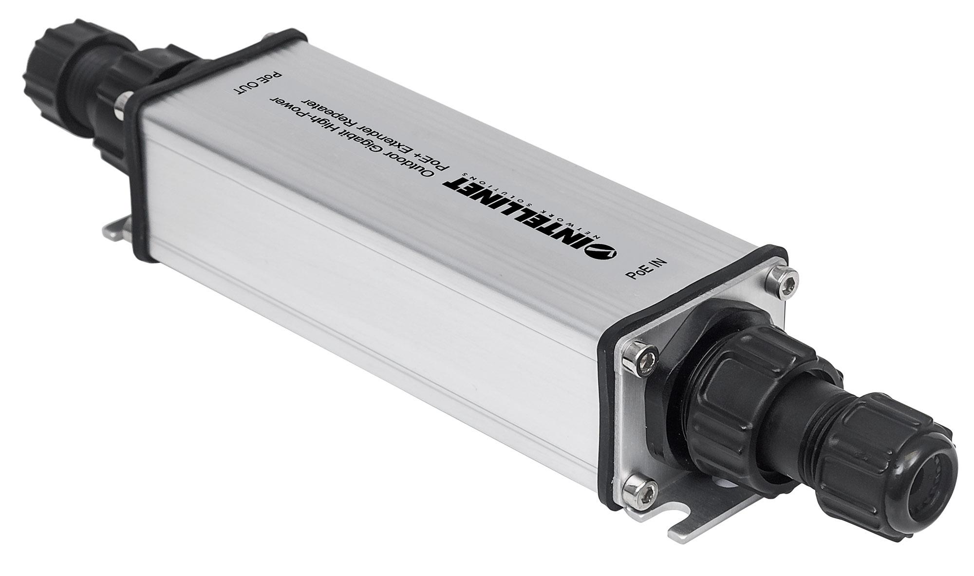 Outdoor Gigabit High-Power PoE+ Extender Repeater