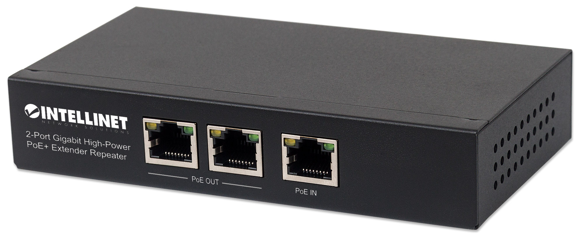 2-Port Gigabit High-Power PoE+ Extender Repeater