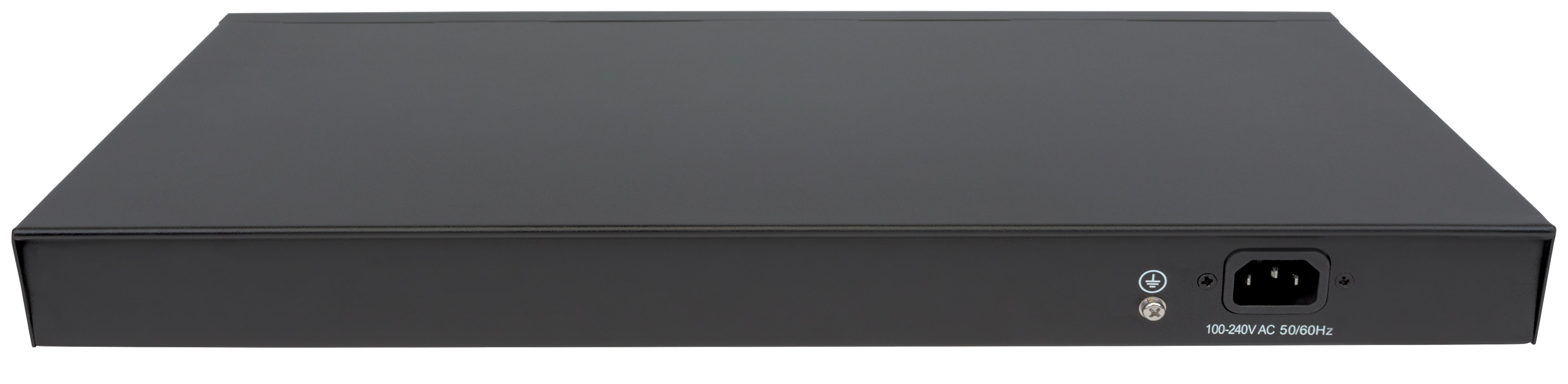 8-Port Gigabit Ethernet Ultra PoE Switch with 4 Uplink Ports and LCD Screen