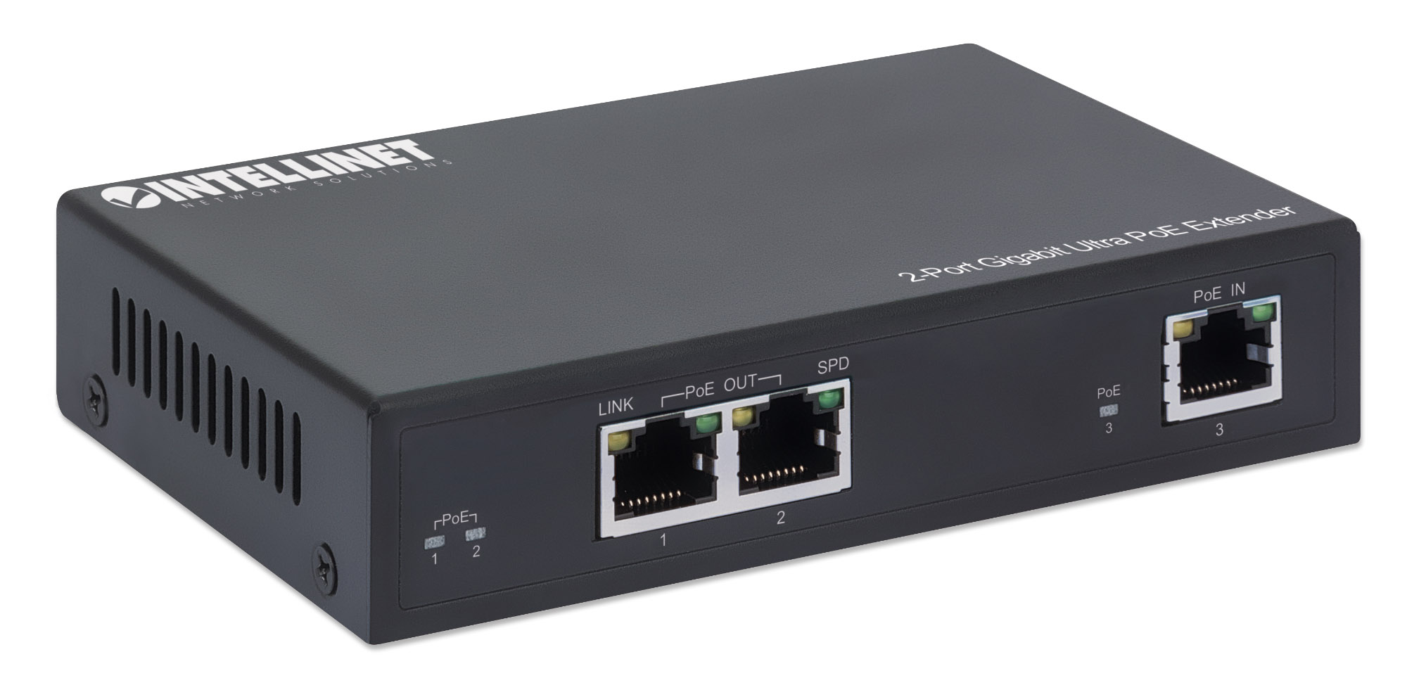 2-Port Gigabit Ultra PoE Extender