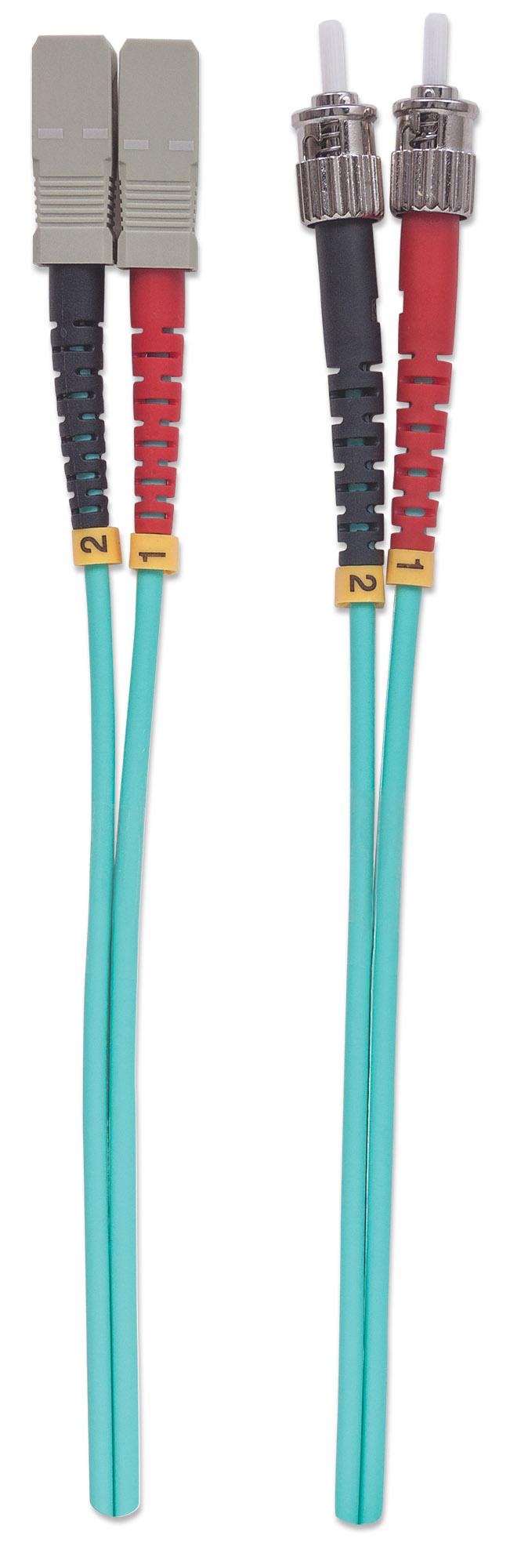 Fiber Optic Patch Cable, Duplex, Multimode