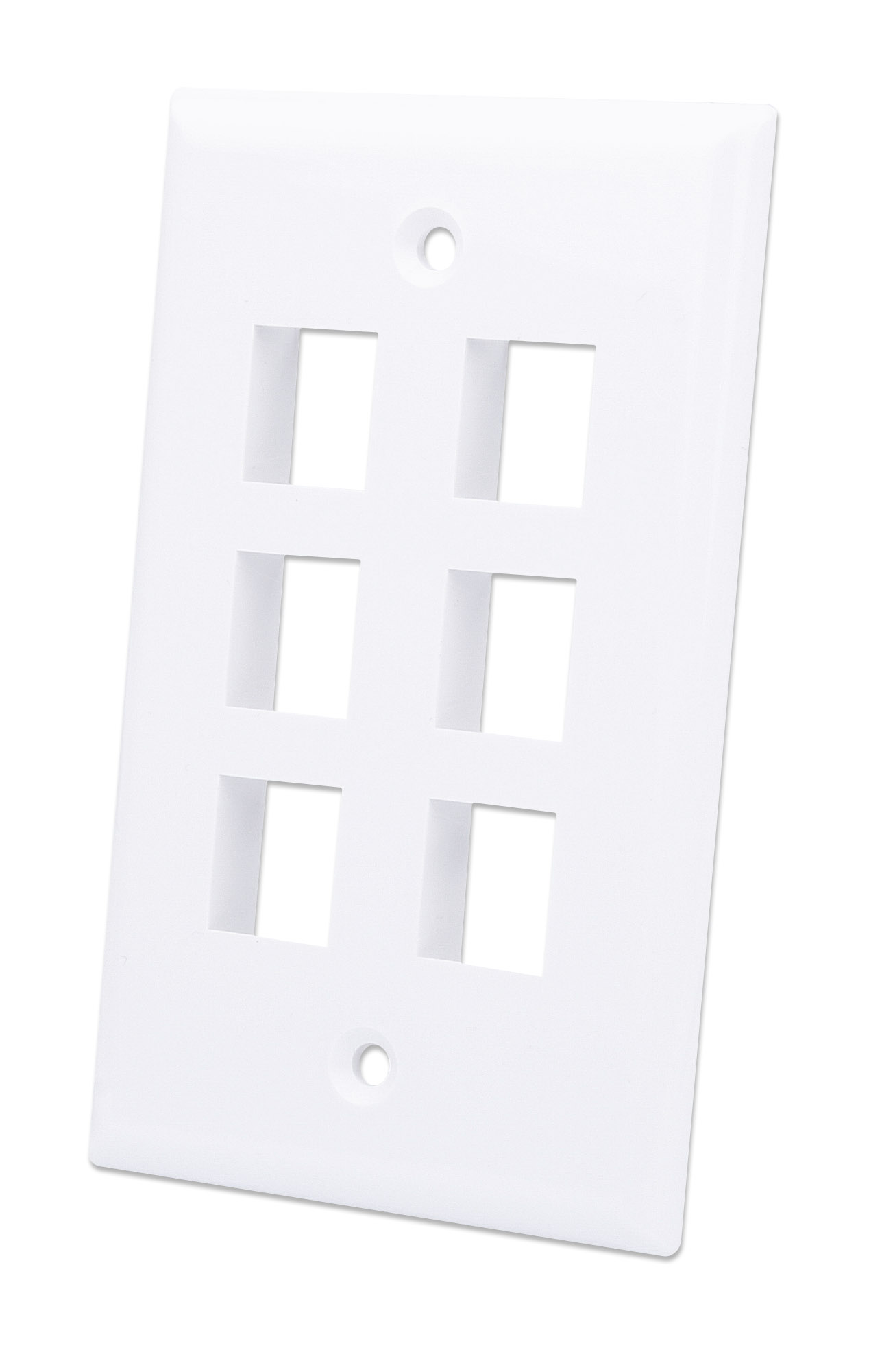 6-Outlet Keystone Wall Plate
