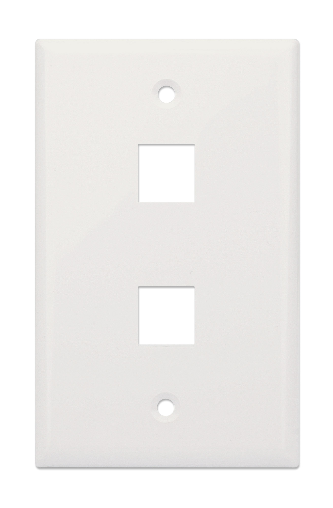 2-Outlet Keystone Wall Plate