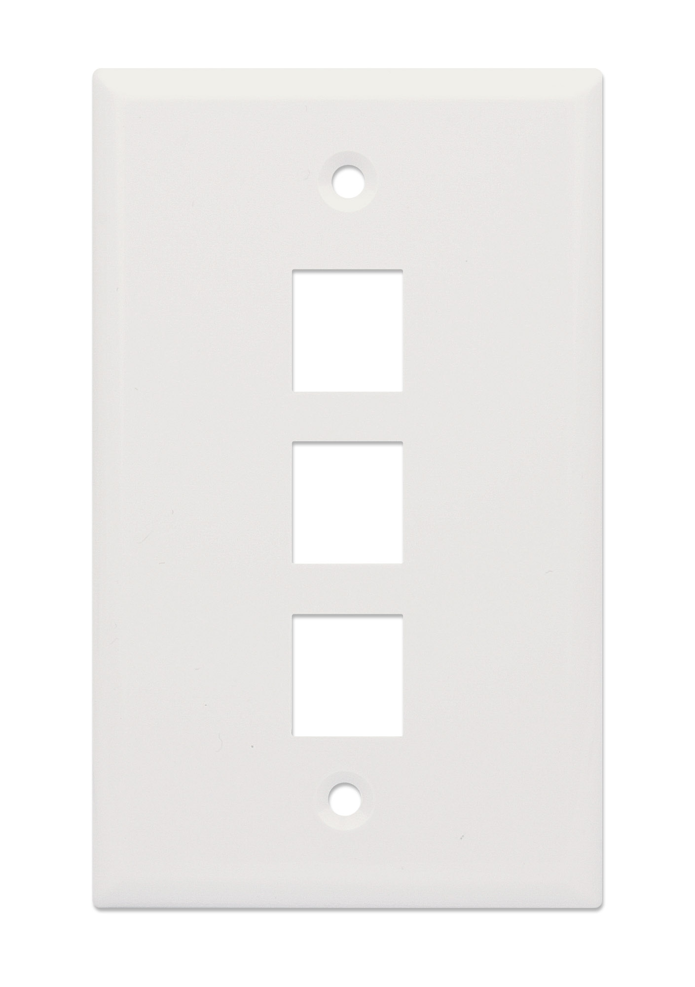 3-Outlet Keystone Wall Plate