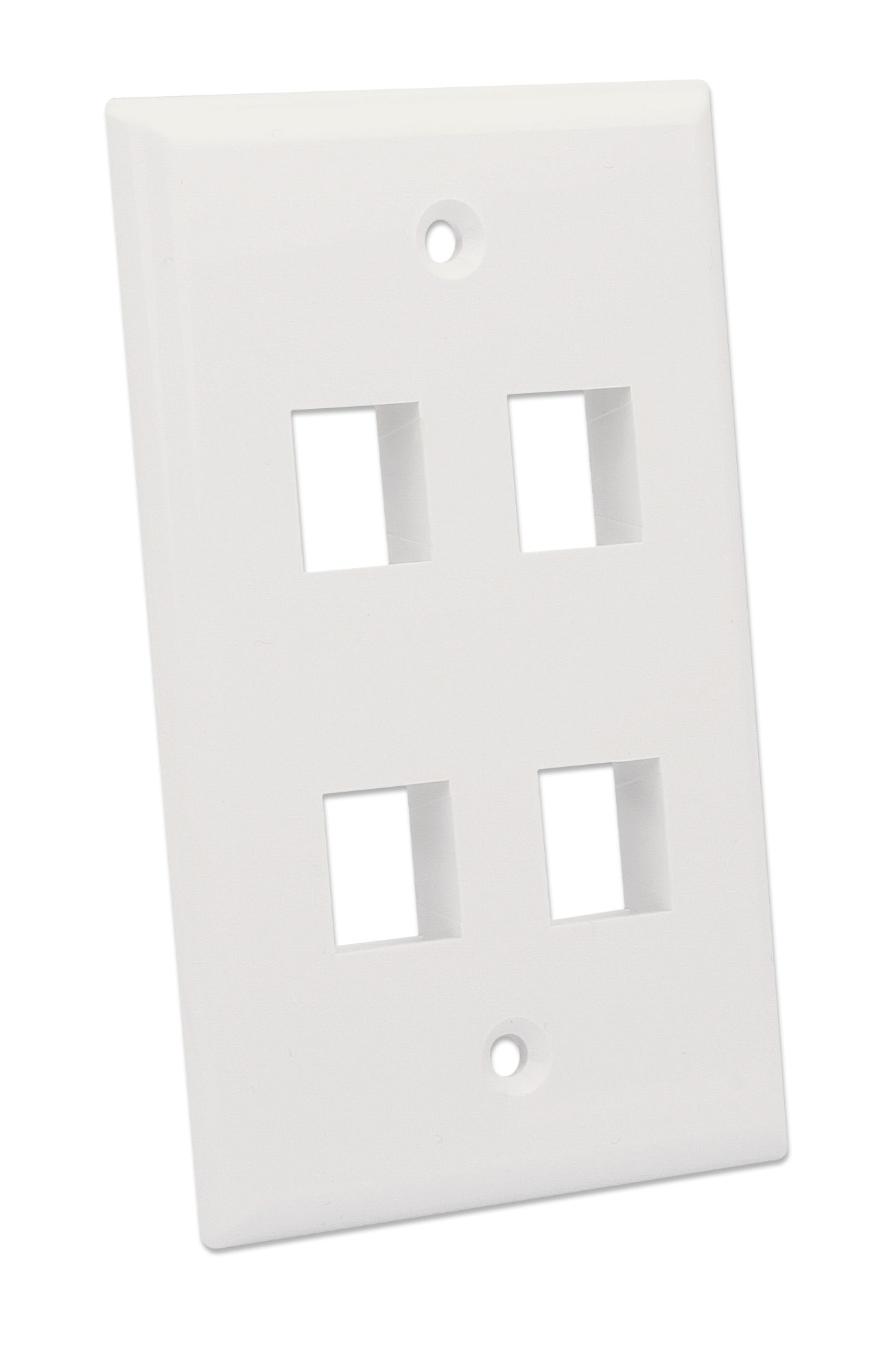 4-Outlet Keystone Wall Plate