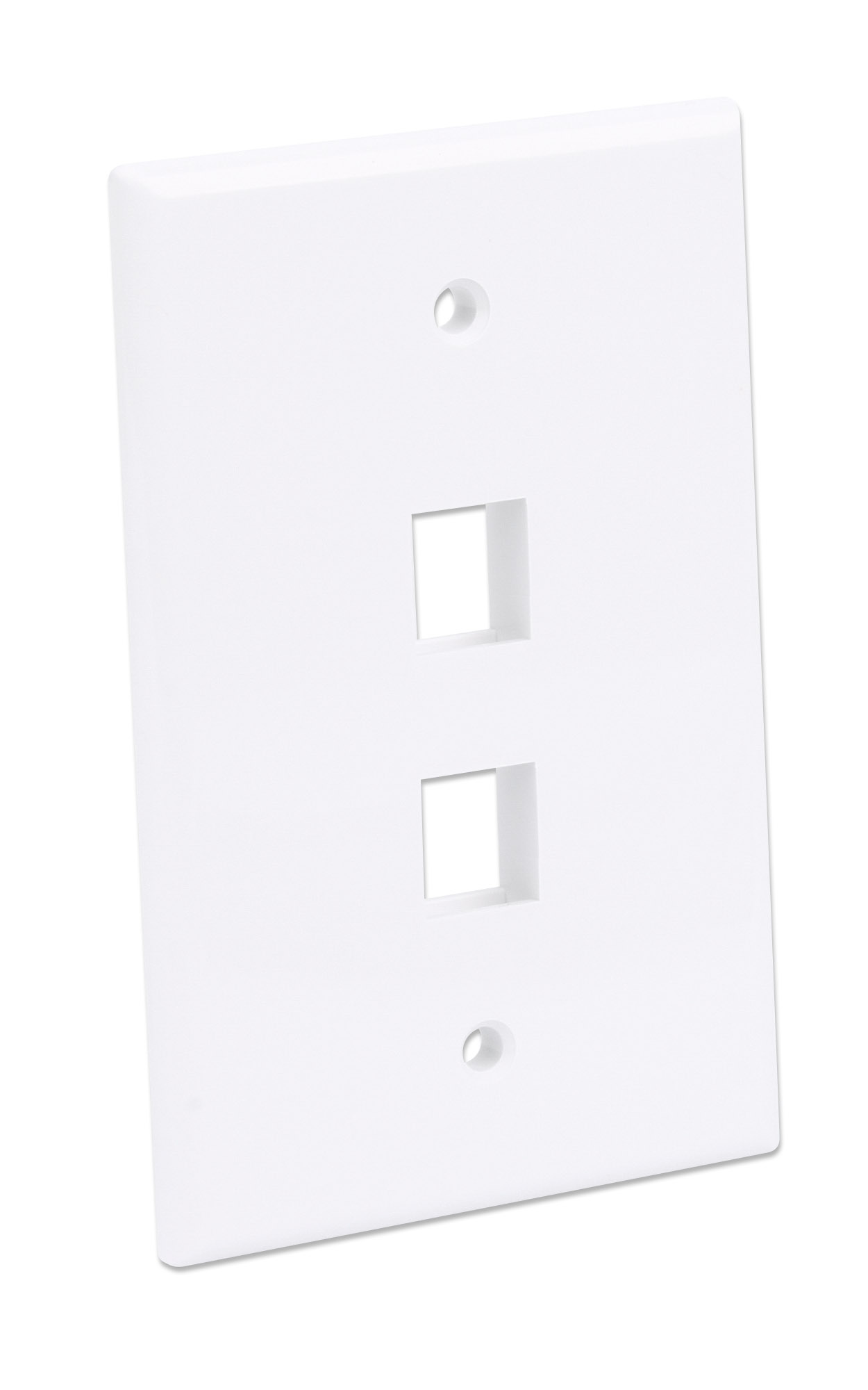 2-Outlet Oversized Keystone Wall Plate