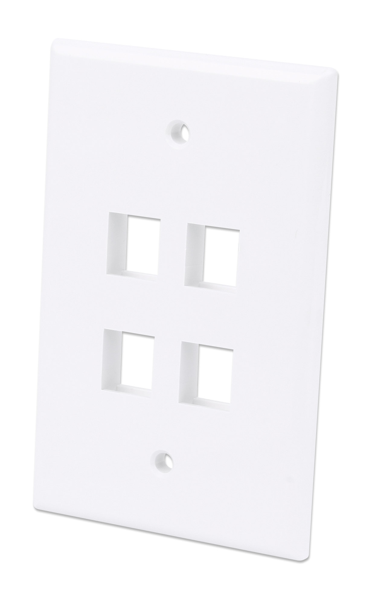 4-Outlet Oversized Keystone Wall Plate