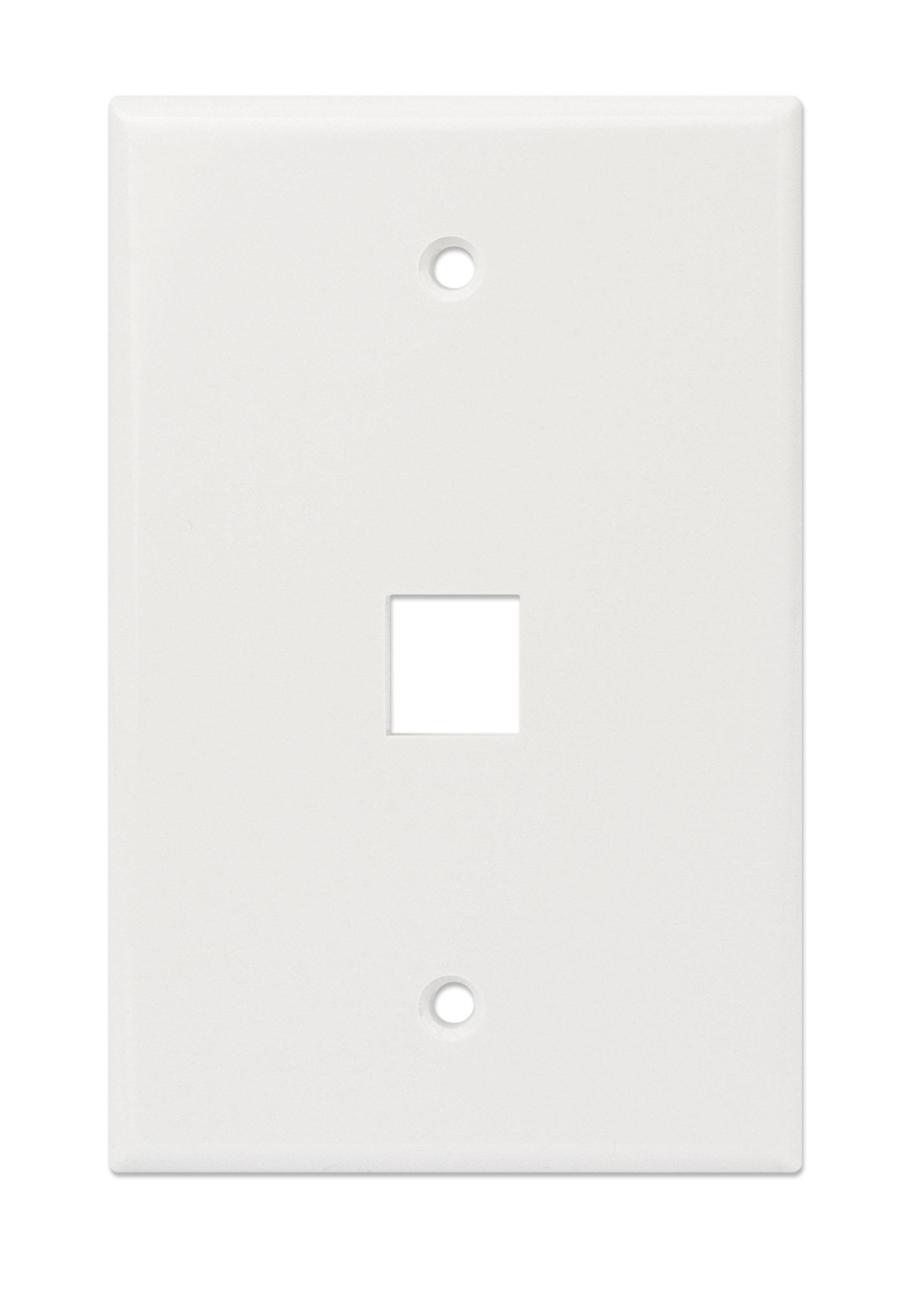 1-Outlet Oversized Keystone Wall Plate