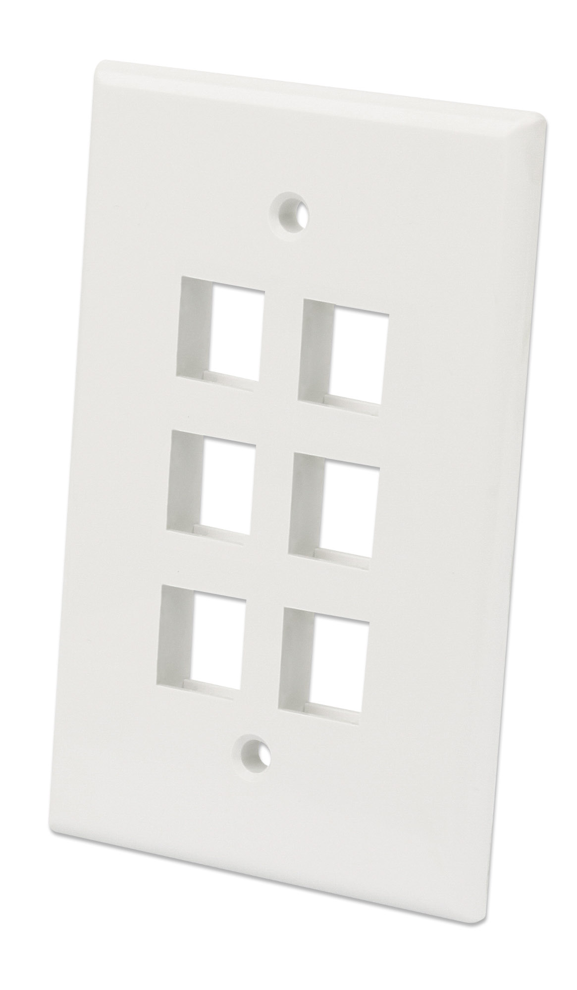 6-Outlet Oversized Keystone Wall Plate