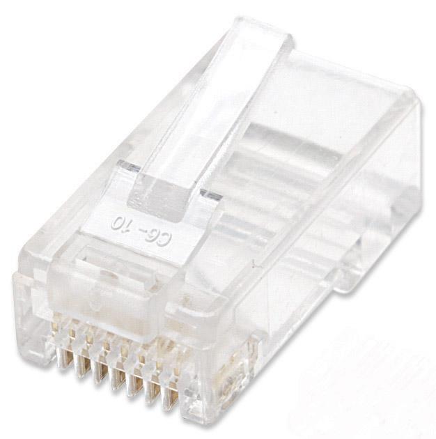 100-Pack Cat5e RJ45 Modular Plugs