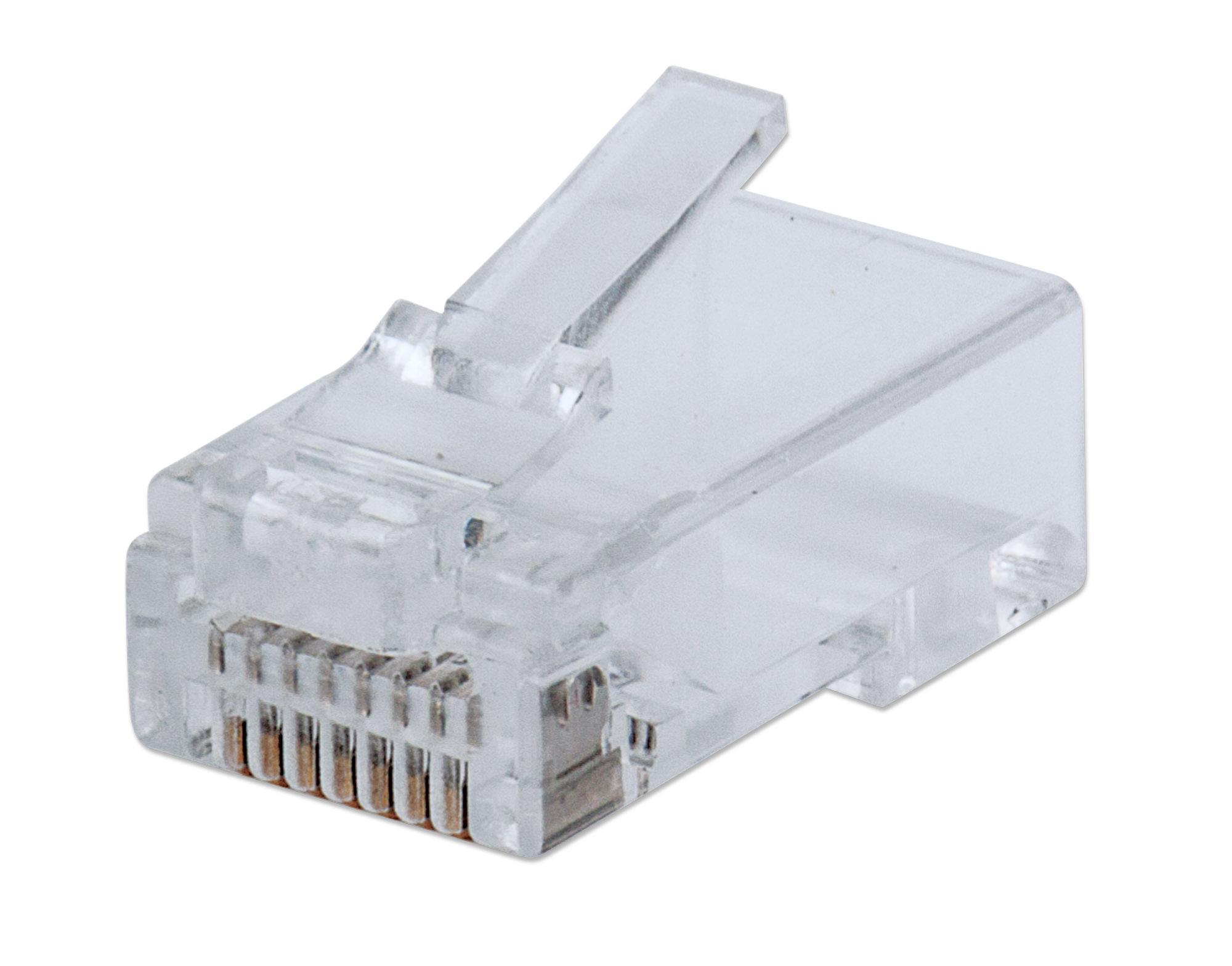 50-Pack FastCrimp Cat6 RJ45 Modular Plugs