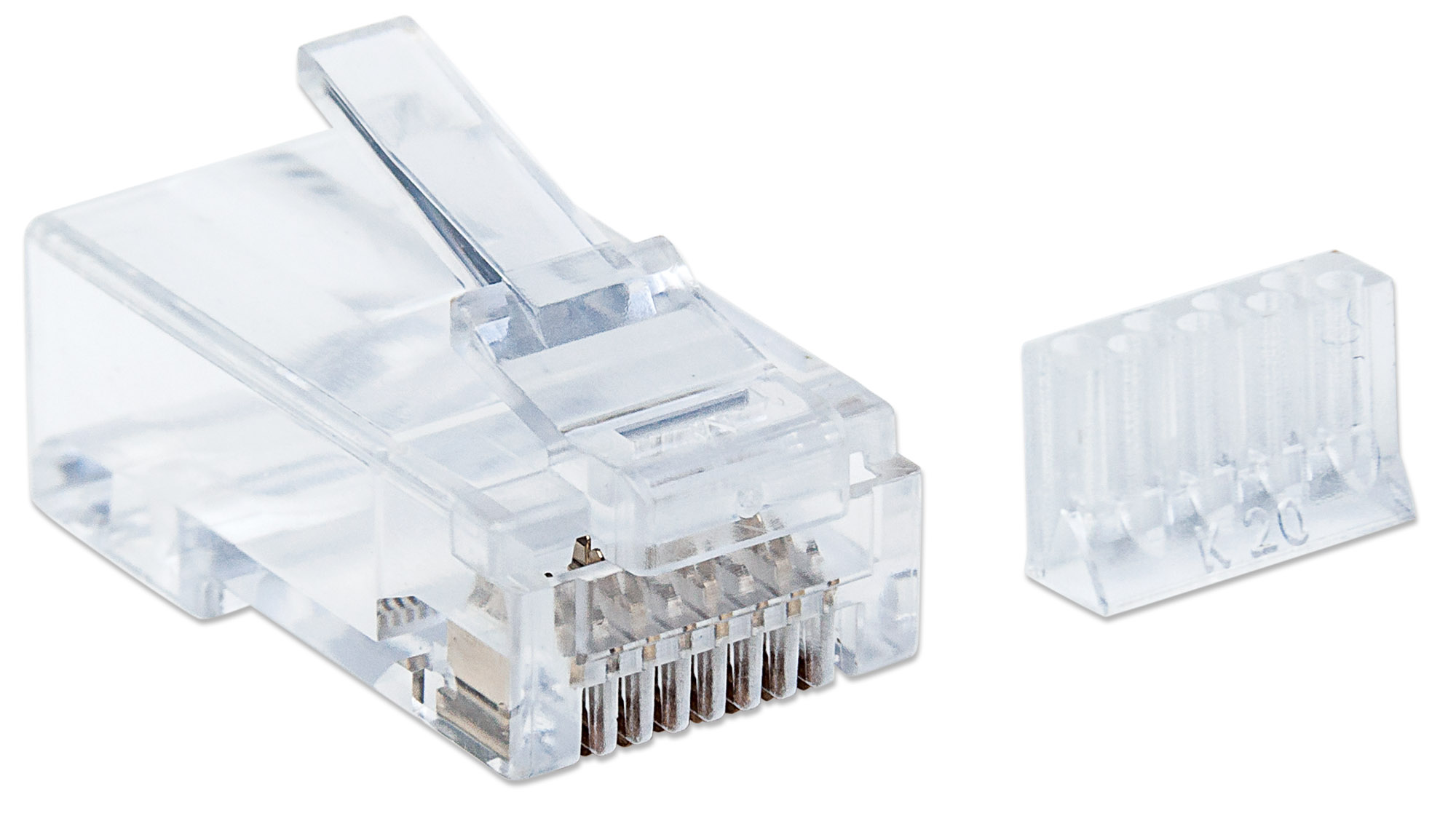 90-Pack Cat6 RJ45 Modular Plugs