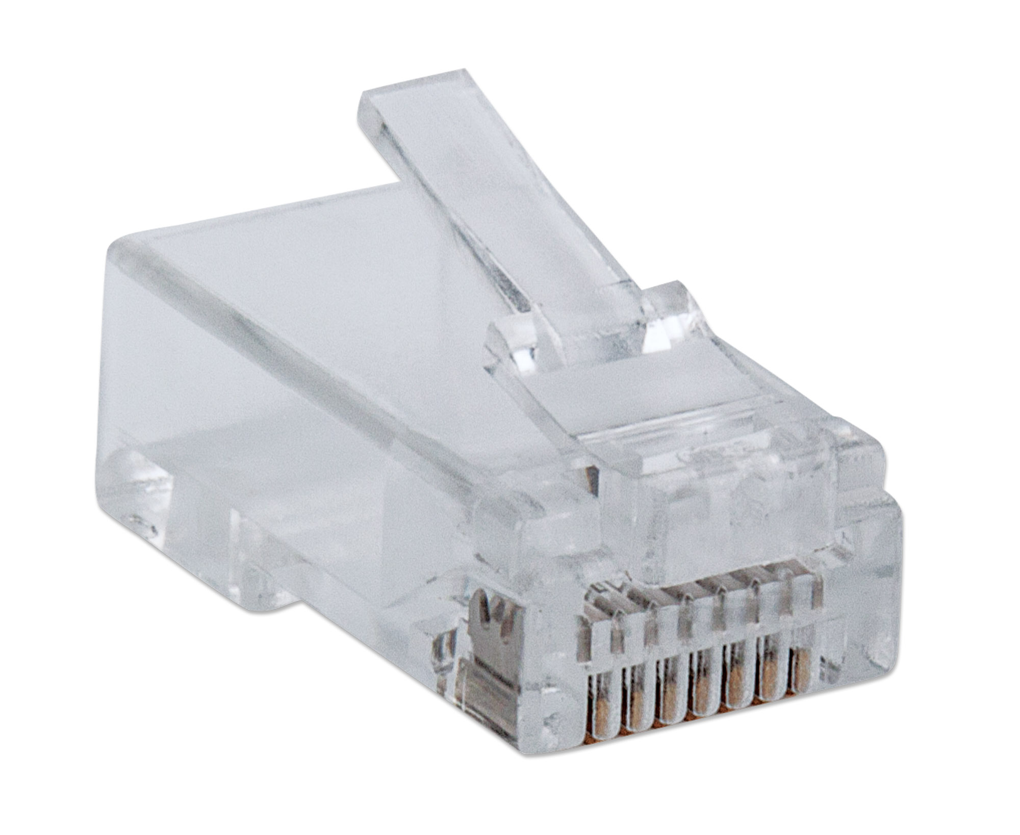 100-Pack FastCrimp Cat5e RJ45 Modular Plugs