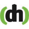 Defhacks logo black green square