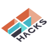 Sd hacks logo white background