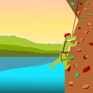 Sm rockclimbing