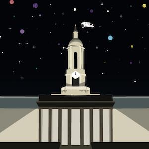 Hackpsu logo background