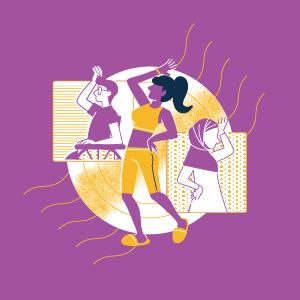Hack girl summer purple mlh event hero