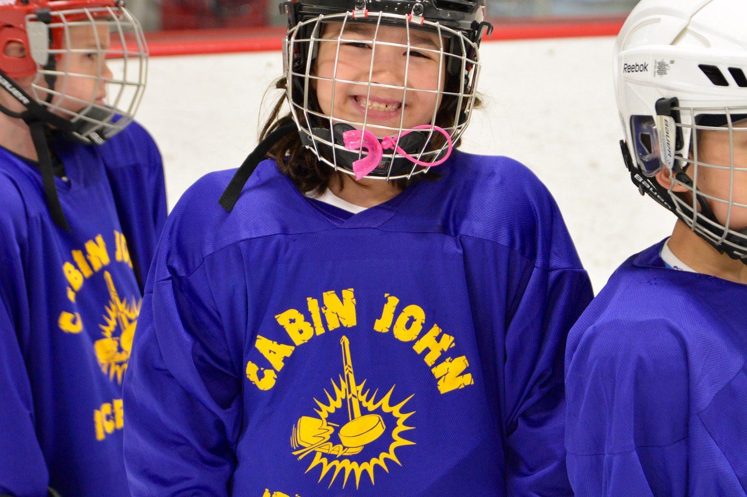 Cabin John Ice Rink - Hockey Camp Skater