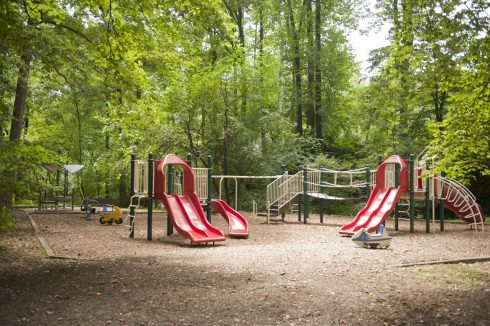 Playground at Becca Lilly Neighborhood Park