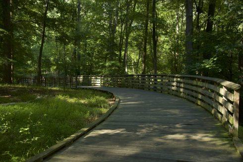 Pathway at Bel Pre Neighborhood Park