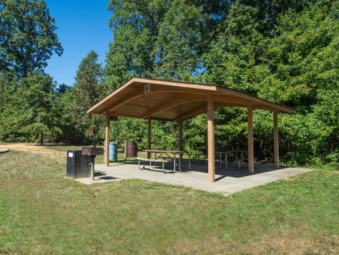 Picnic Shelter at Fairland Recreational Park