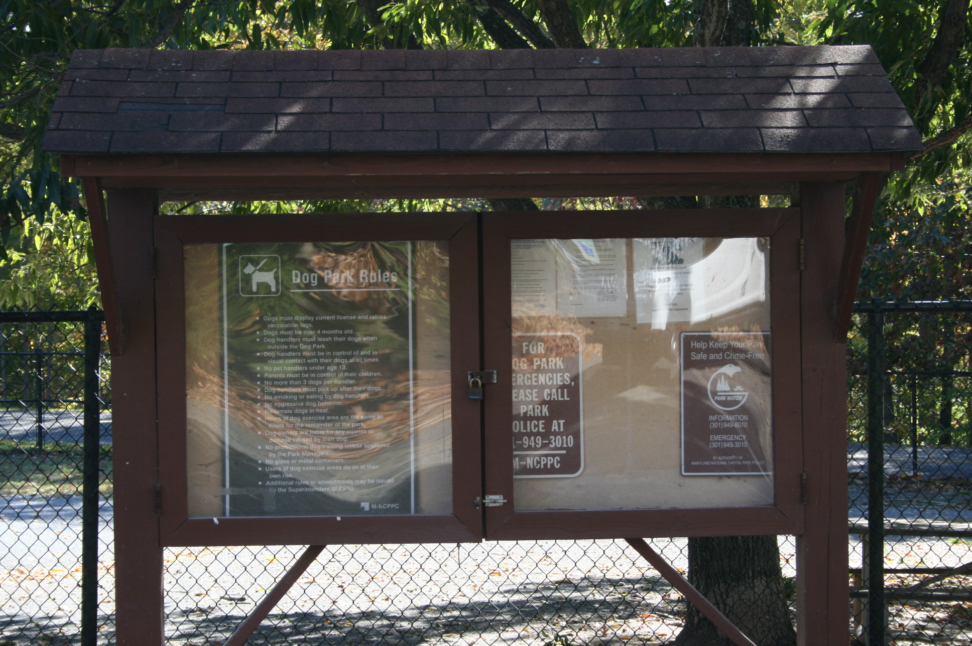 Black Hill Dog park Kiosk