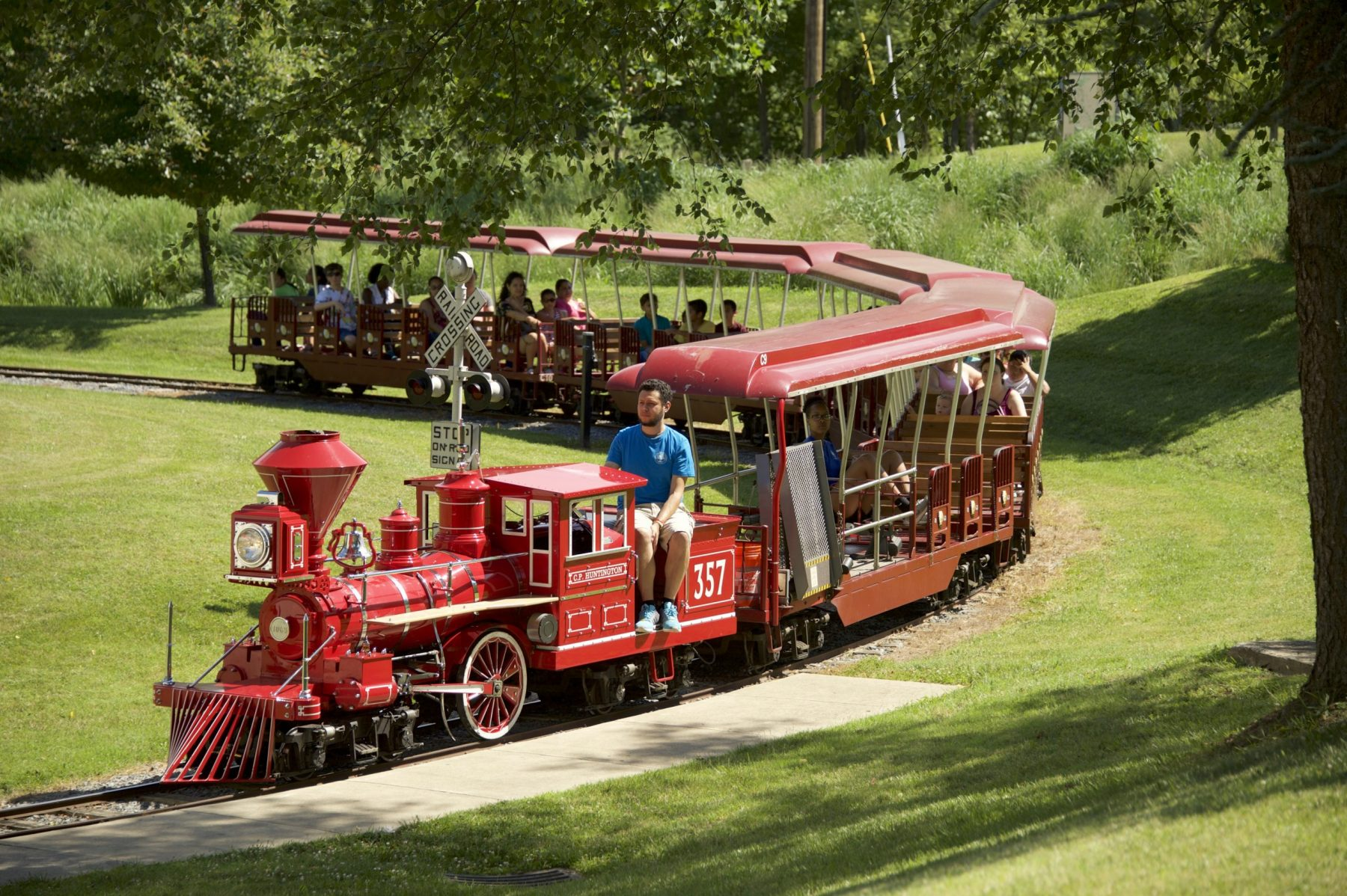 Wheaton Miniature Train and Ovid Hazen Wells Carousel