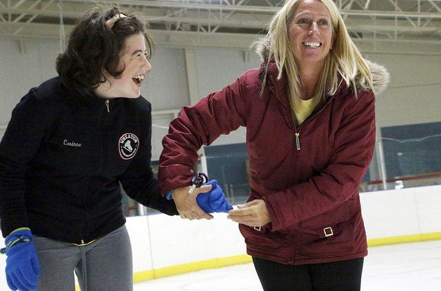Hockey and Ice Skating