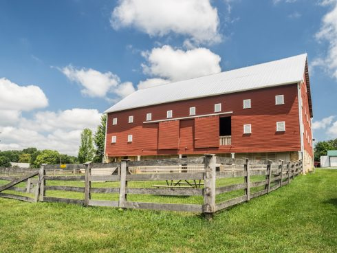 Building at Agricultural History Farm Park