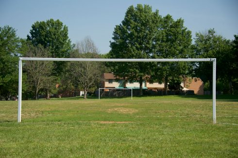 Soccer Field at Bauer Drive Local Park
