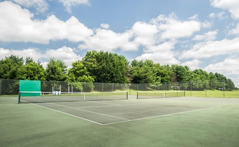 Tennis Court at Bowie Mill Local Park
