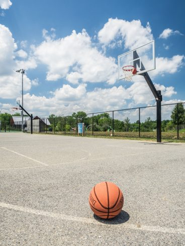 basketball Court at East Norbeck Local Park