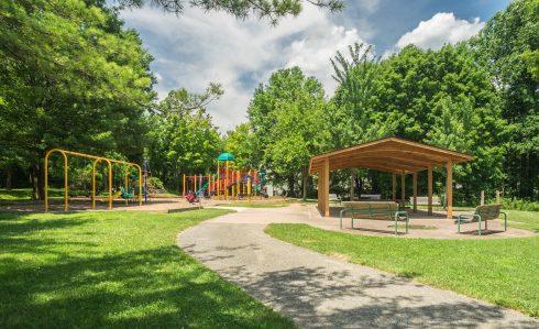 Playground at Edgewood Neighborhood Park