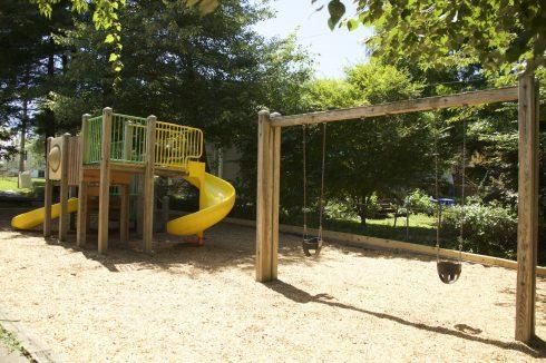 Playground at Edith Throckmorton Neighborhood Park