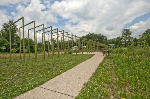 Pathway at Evans Parkway Neighborhood Park