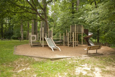 Playgroud at Hillwood Manor Neighborhood Park