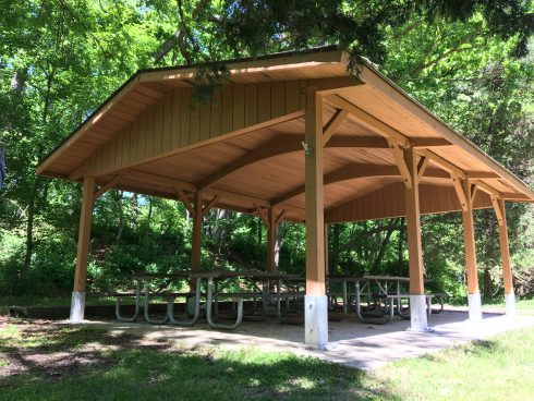 Outdoor Shelter Pavilion atBrookside Nature Center Nature Center